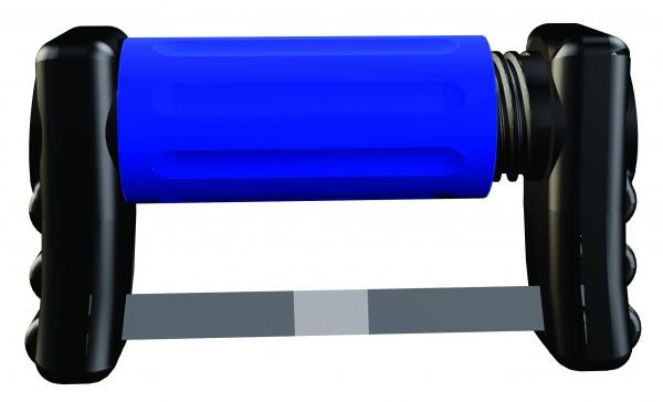 FitStrip subgingivale einseitige Streifen, 10 Streifen, 2 Griffe, mittlere Körnung, 46 Micron / 0,13