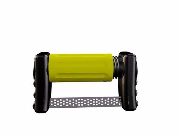 FitStrip doppelseitige Streifen, 10 Streifen, 2 Griffe, superfeine Körnung, 15 Micron / 0,11mm-Copy-