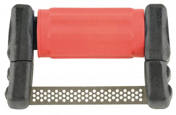 FitStrip doppelseitige Streifen, 4 Streifen, feine Körnung, 30 Micron / 0,15mm