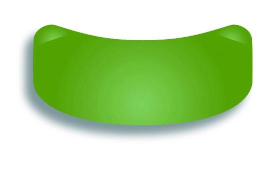 Slick Bands™ 6,4mm Bänder für große Molare – grün