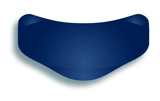 Slick Bands™ 6,4mm Bänder für Molare mit subgingivaler Lasche – blau