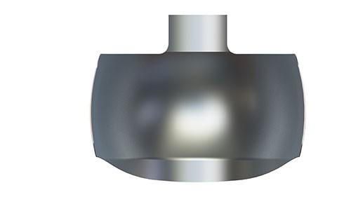NiTin-matrijzenbanden van metaal met een geprononceerde kromming voor een optimale aanpassing, grote molaar, 6.6 mm