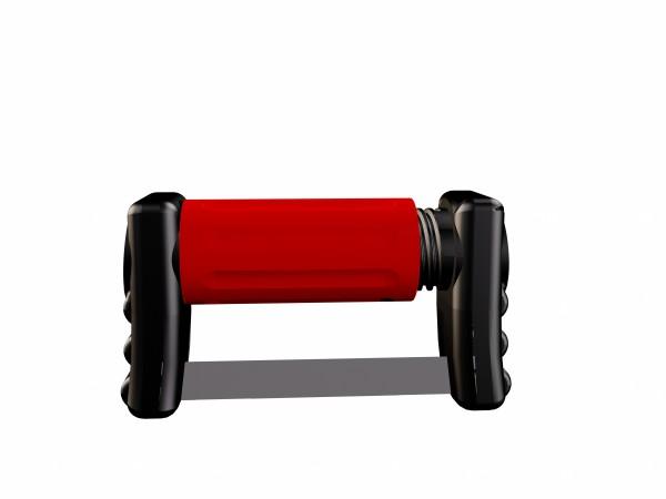 FitStrip einseitige Streifen, 10 Streifen, 2 Griffe, mittlere Körnung, 46 Micron / 0,13mm