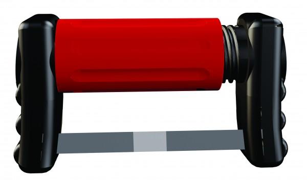 FitStrip subgingivale einseitige Streifen, 10 Streifen, 2 Griffe, feine Körnung, 30 Micron/0,10mm