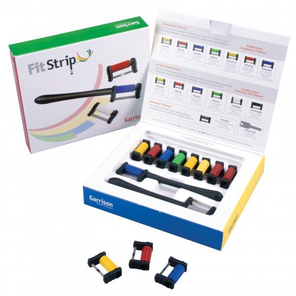 FitStrip Subgingivales Finierkit und einseitig beschichtetes Kit