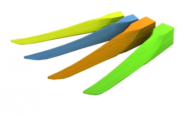 Soft Wedge Nachfüllpackung - extra klein/gelb